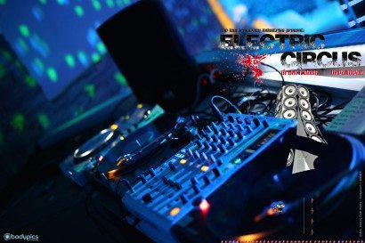 event • dj`s live at work • electricCircus 2014