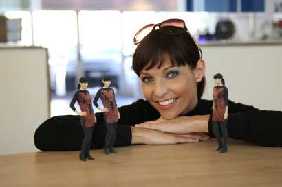 Werbung • 3D-Portraitfigur • Anita Buri
